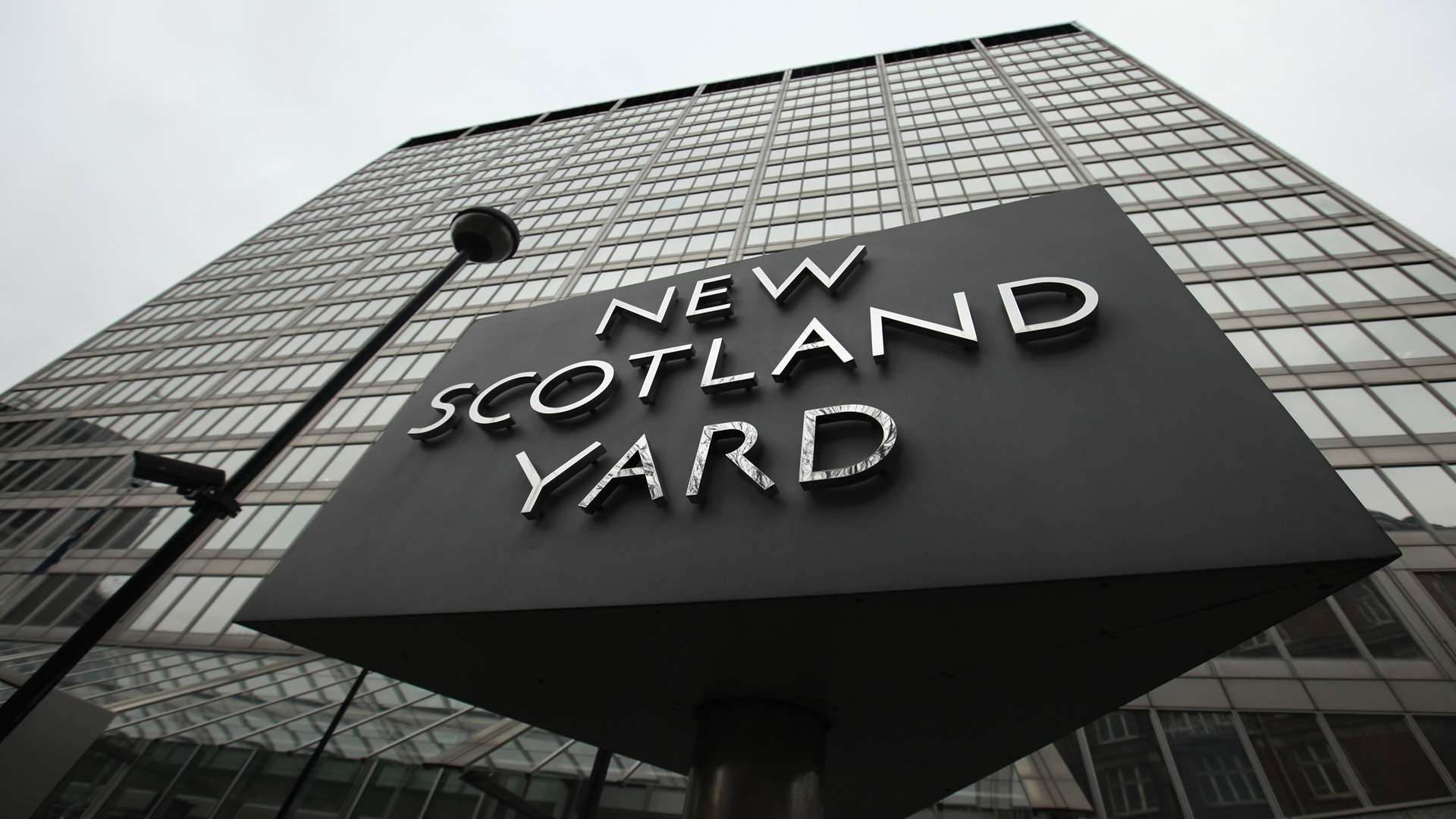 The arrest was made by officers from Scotland Yard