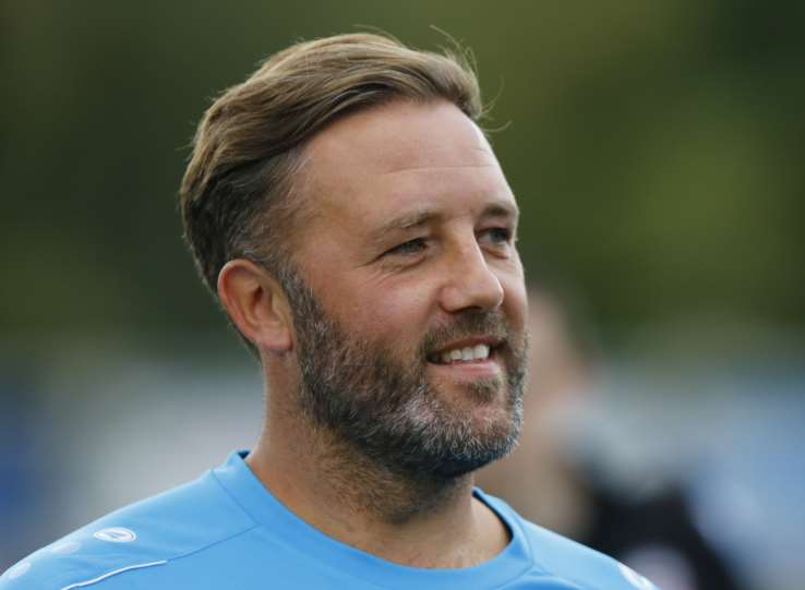 Maidstone boss Jay Saunders Picture: Andy Jones