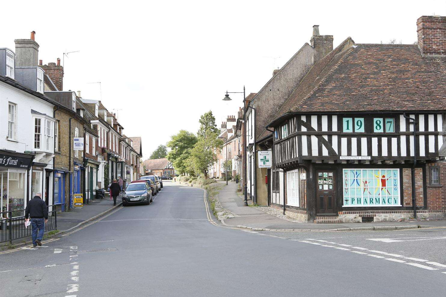 "Lenham is a ""jewel in the crown"", say campaigners against the housing plans."