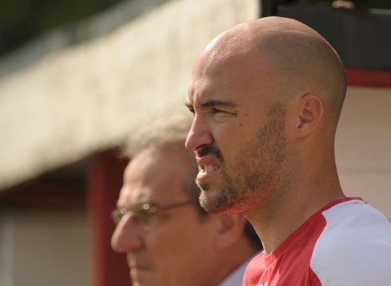 Chatham Town manager Kevin Watson Picture: Steve Crispe