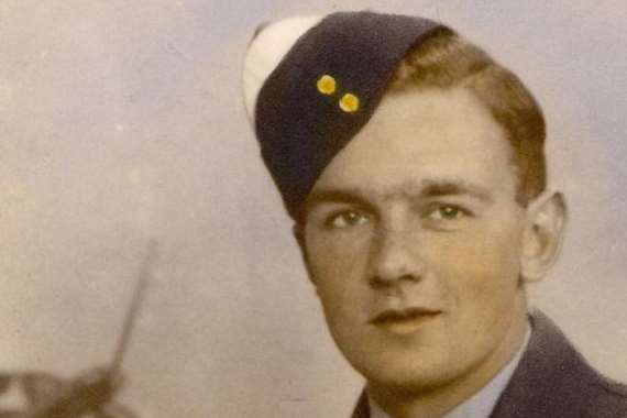 Geoffrey Platts, who flew dozens of missions over Germany during the war