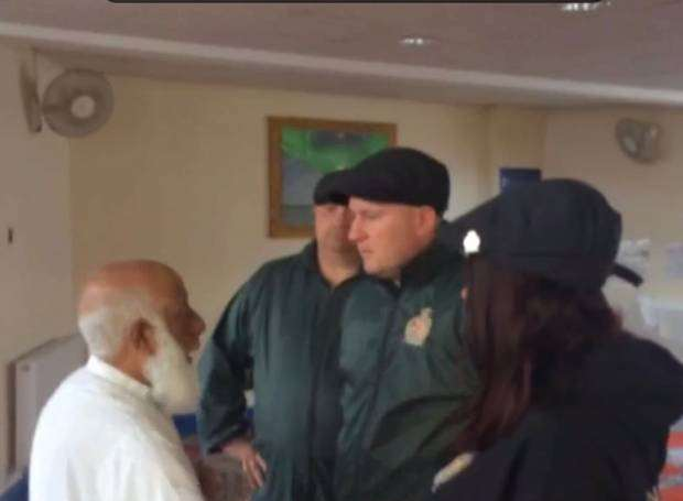 Britain First at Crayford Mosque