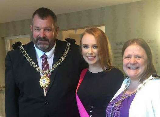 Kerys attended an event at Cedar Court to celebrate 50 years of Orbit housing association with the mayor and mayoress of Deal, David and Karen Cronk.
