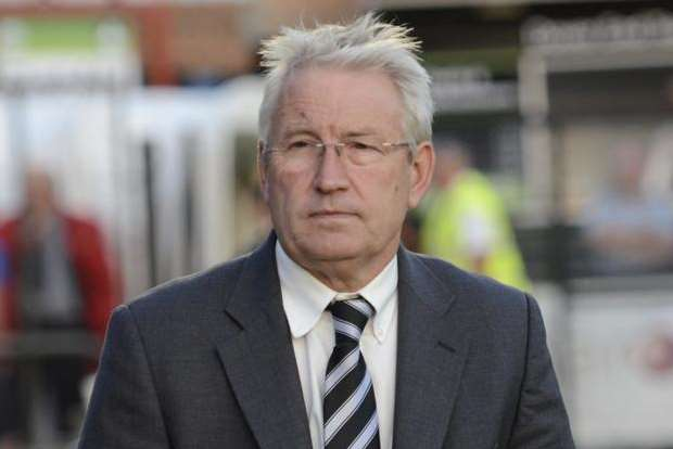 There was no joy for Dover manager Chris Kinnear and his side against FC Halifax.