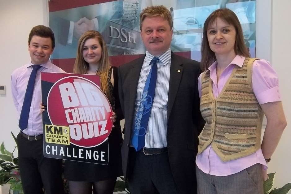 (From left) Nathan Waite, Chloe Ranger, Mike Startup and Ann-Marie Langley from DSH