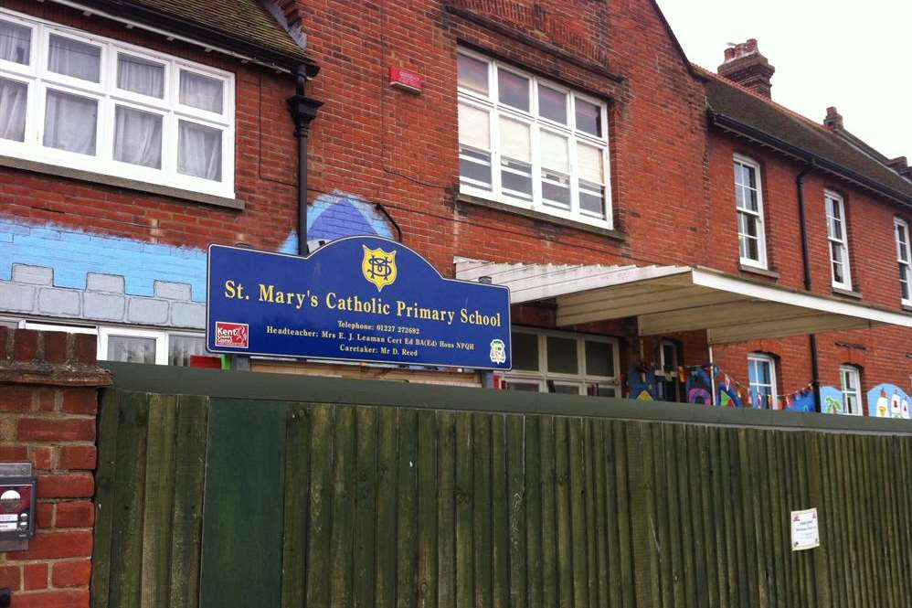 St Mary's Catholic Primary School in Whitstable