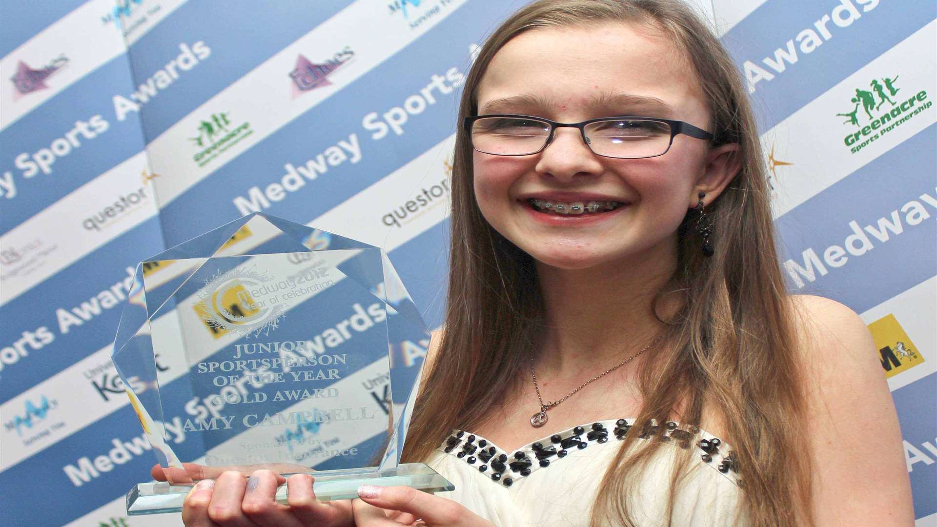 Junior Sportsperson of the Year 2012, Amy Campbell. Picture: Darren Small