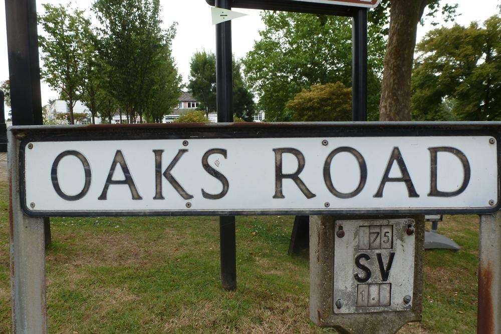 The couple lived in Oaks Road in Tenterden