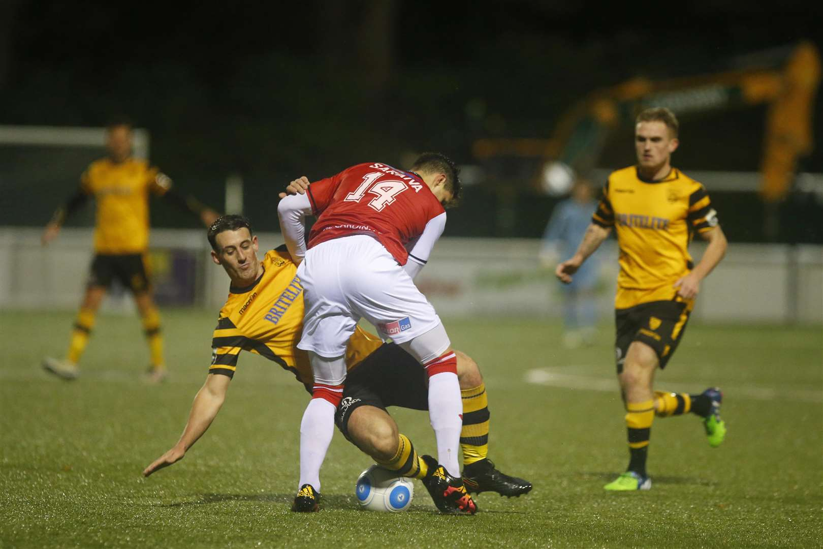 Callum Driver made an impression on Jamie Coyle during their days at Maidstone Picture: Andy Jones