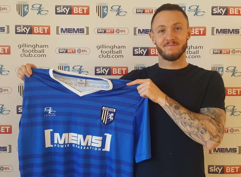 Rhys Murphy is on a contract with Gillingham until the end of this season Picture: Gillingham FC