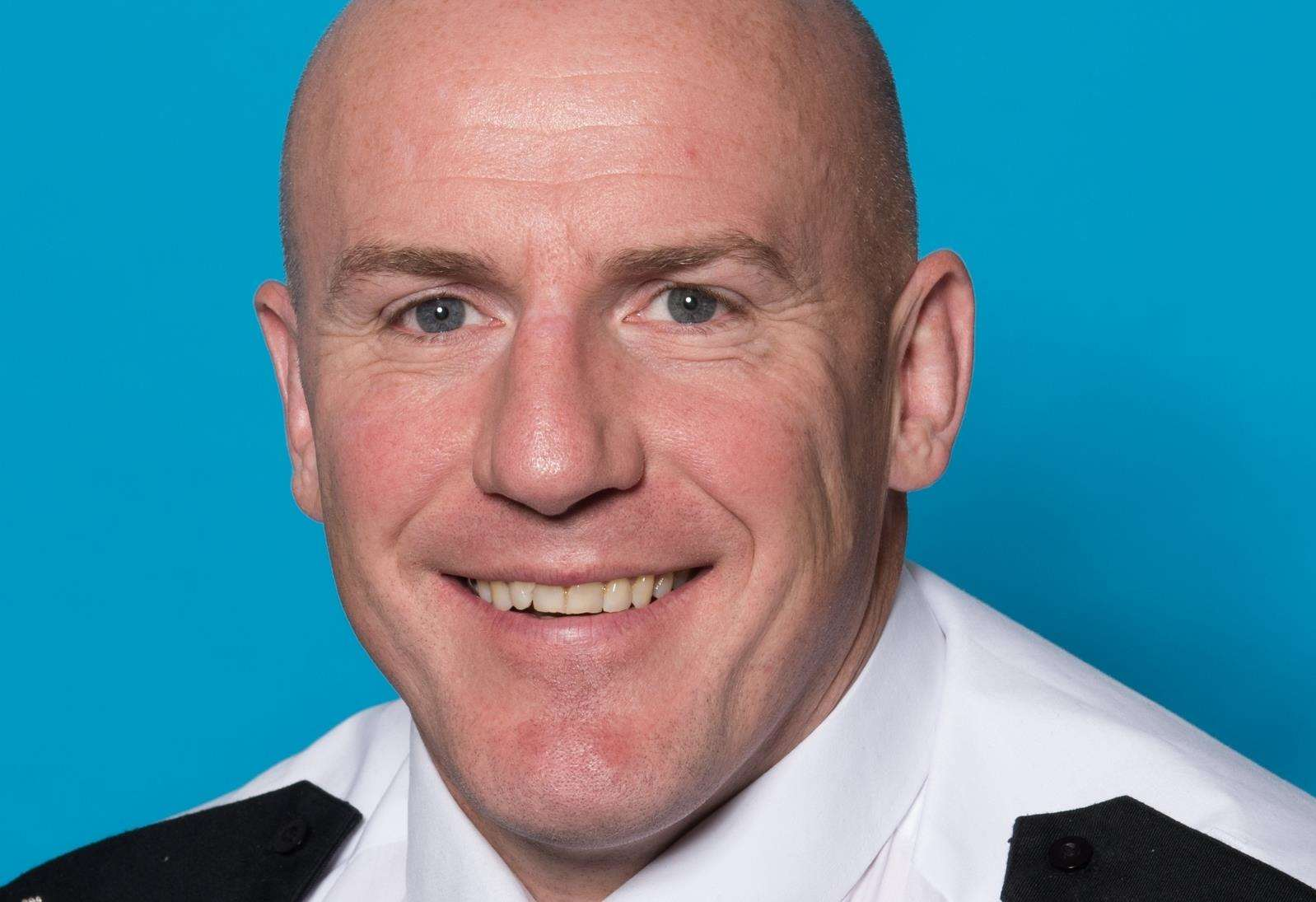Temporary Chief Superintendent Andrew Pritchard