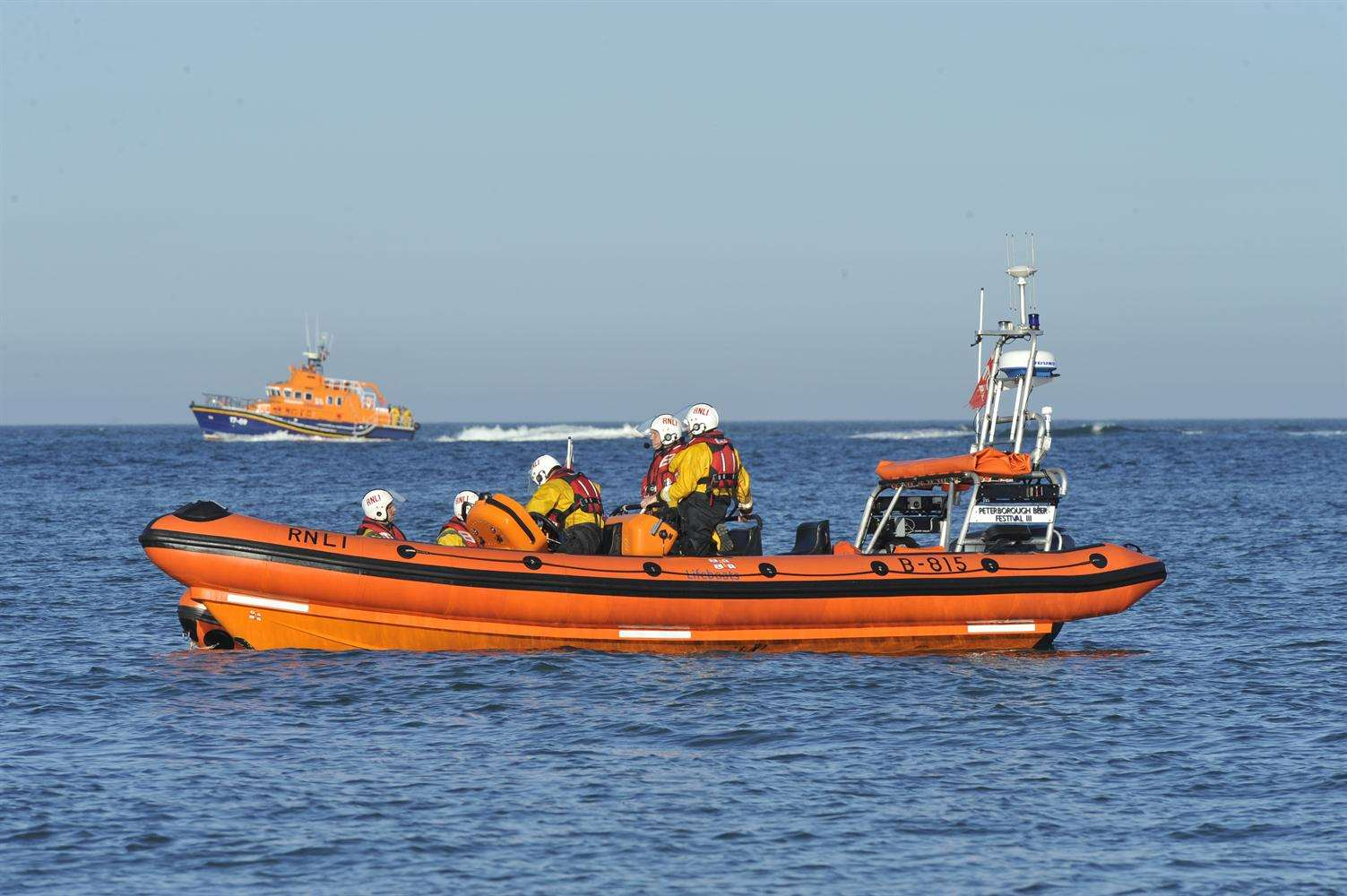 The RNLI and HM Coastguard will give a sea rescue demonstration at the Party on the Prom