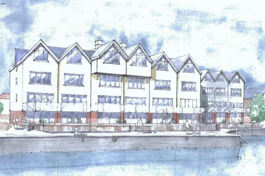 The plans for Abbey Wharf.