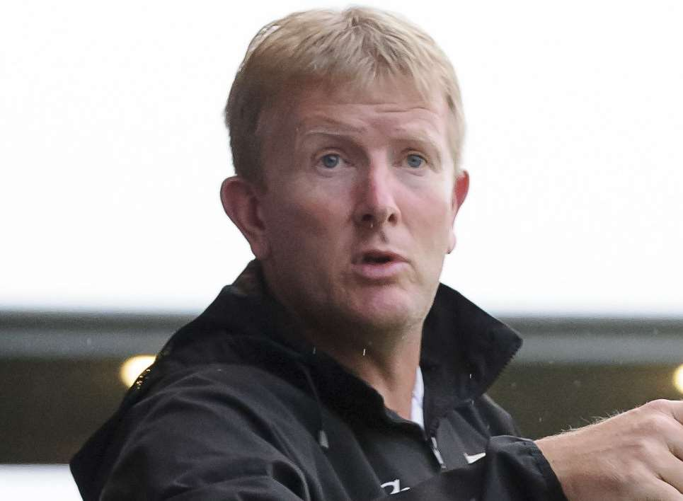 Gills head coach Ady Pennock Picture: Andy Payton