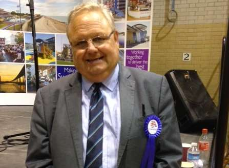 Swale council leader Andrew Bowles