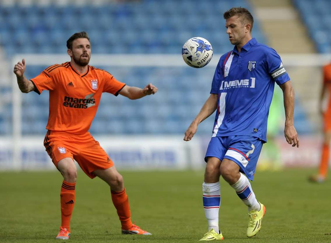Doug Loft in action for Gills against Ipswich on Saturday. Picture: Barry Goodwin