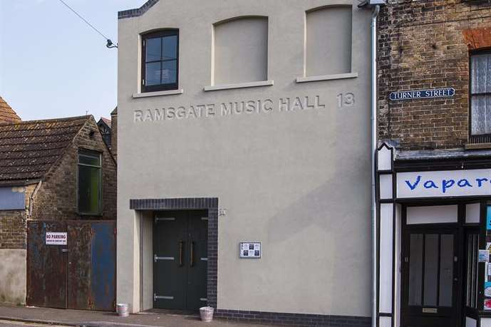 Exciting new live music venue: Ramsgate Music Hall in Turner Street.