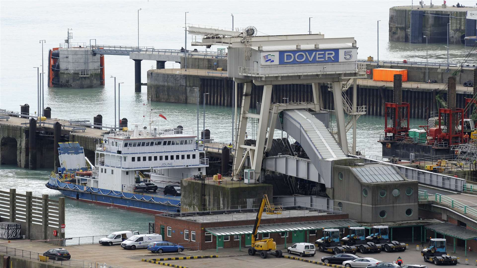 The Port of Dover handles more than £100 billion of international trade annually