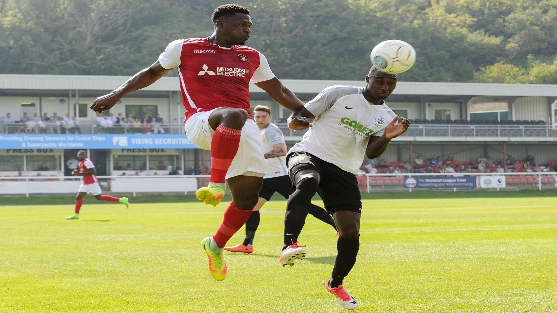 Yado Mambo in action for Ebbsfleet Picture: Andy Payton