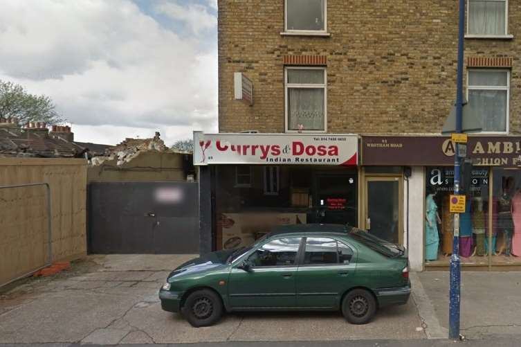 The Currys & Dosa Restaurant in Gravesend.