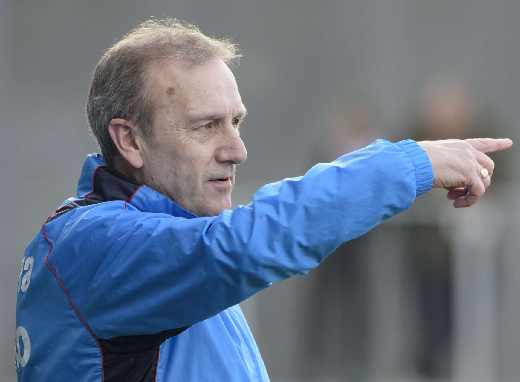 Dartford boss Tony Burman was left questioning his team's desire on Saturday. Picture: Andy Payton