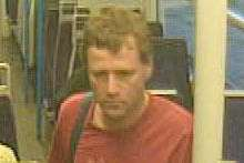 CCTV image issued at time of appeal by British Transport Police
