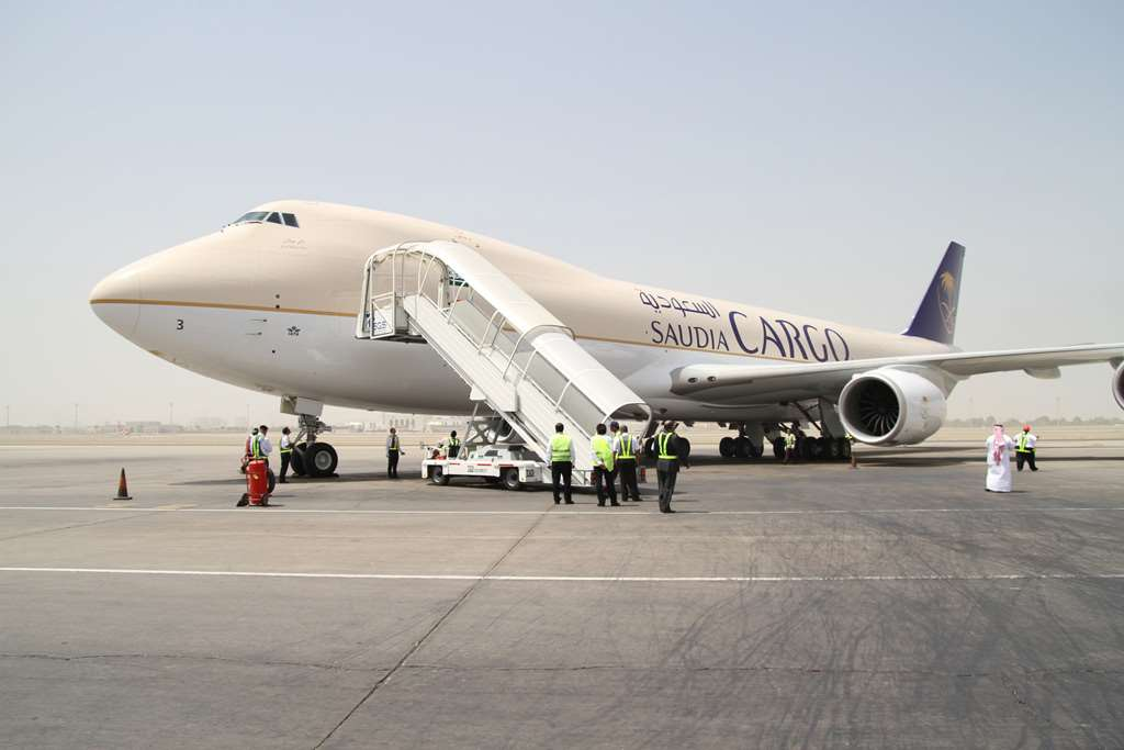 Saudi Airlines Cargo has chosen Manston Airport for its first freighter operation in the UK