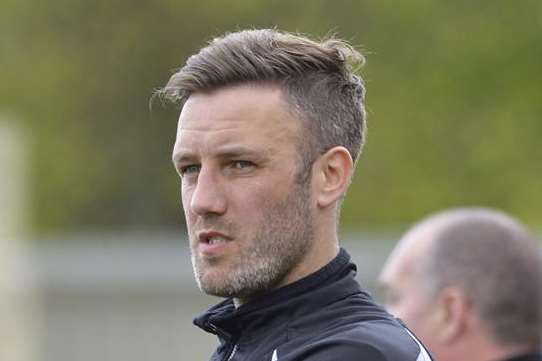Maidstone boss Jay Saunders Picture: Andy Payton
