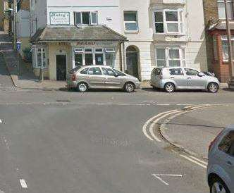 The stabbing took place in Addington Street near the junction of King Street. Picture: Google Street View