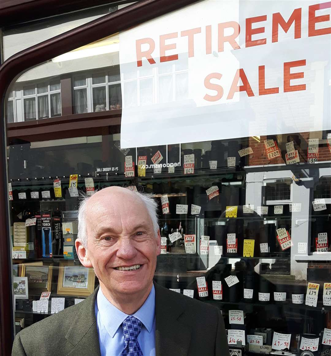 Ivan White is retiring having worked at the shop since 1967