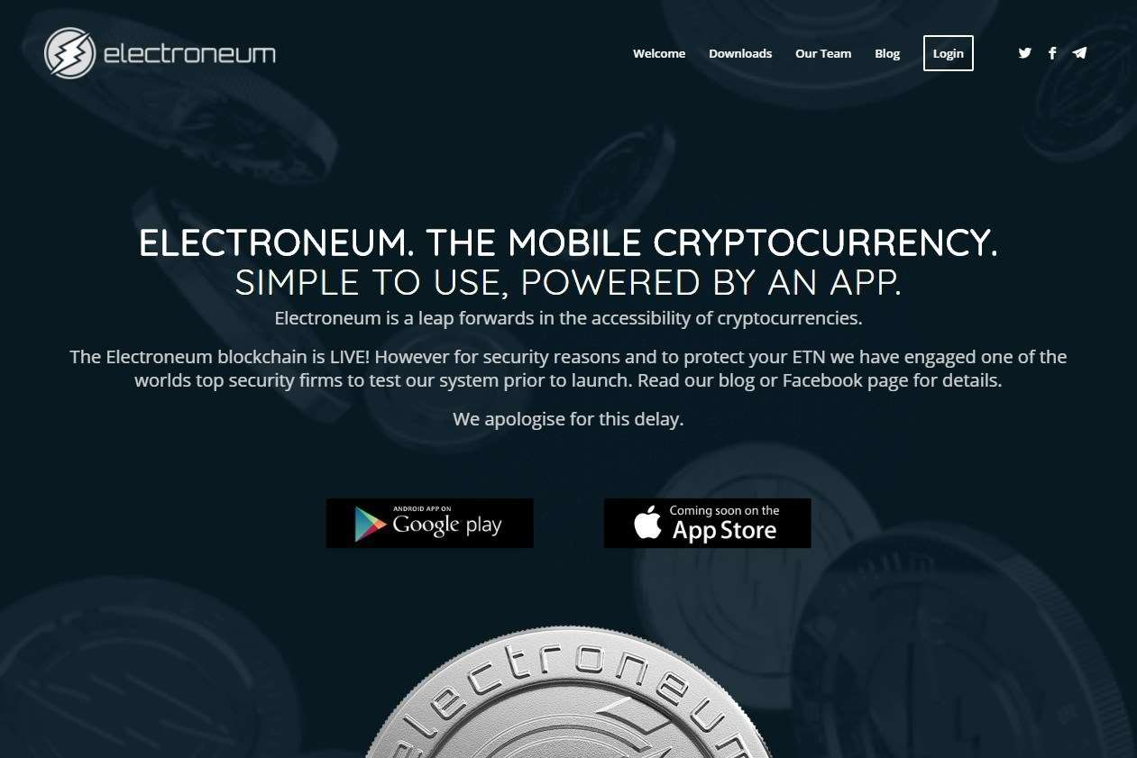 Electroneum was forced to abandon its launch after hundreds of user accounts were hacked
