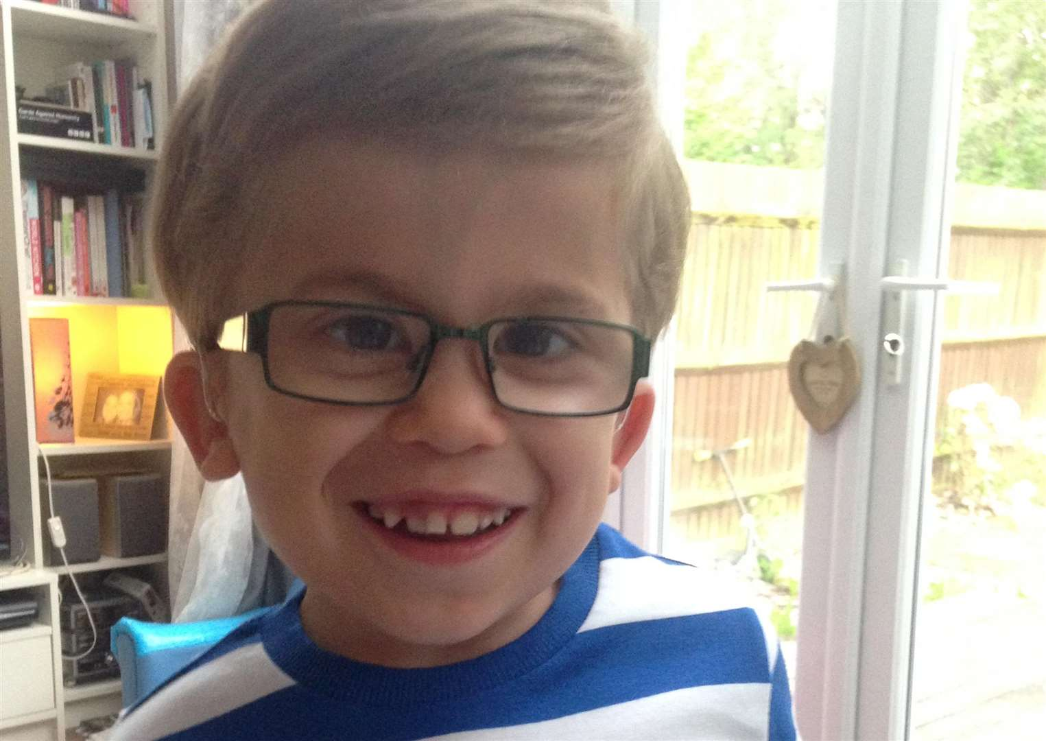 Ethan was diagnosed with MPS shortly before his third birthday