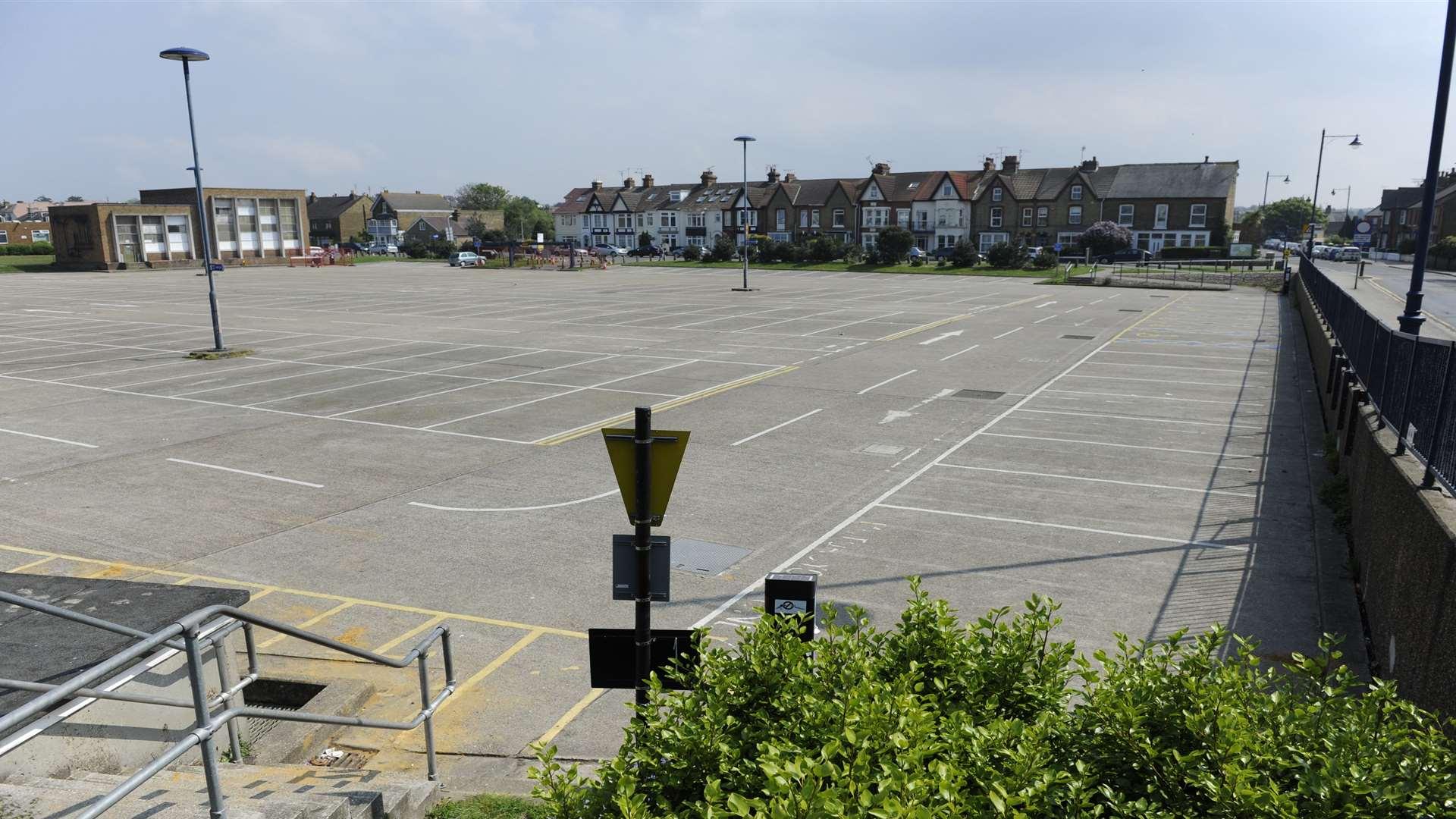 Station Road West Car Park Canterbury