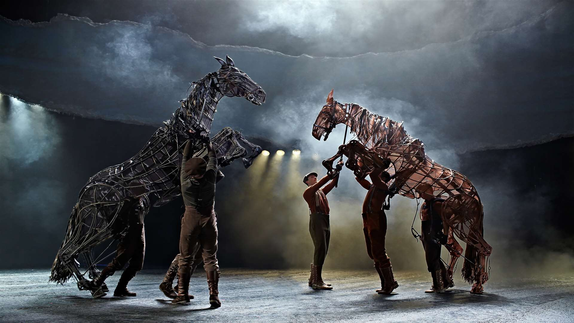 The National Theatre's War Horse is at the Marlowe for its 10th anniversary