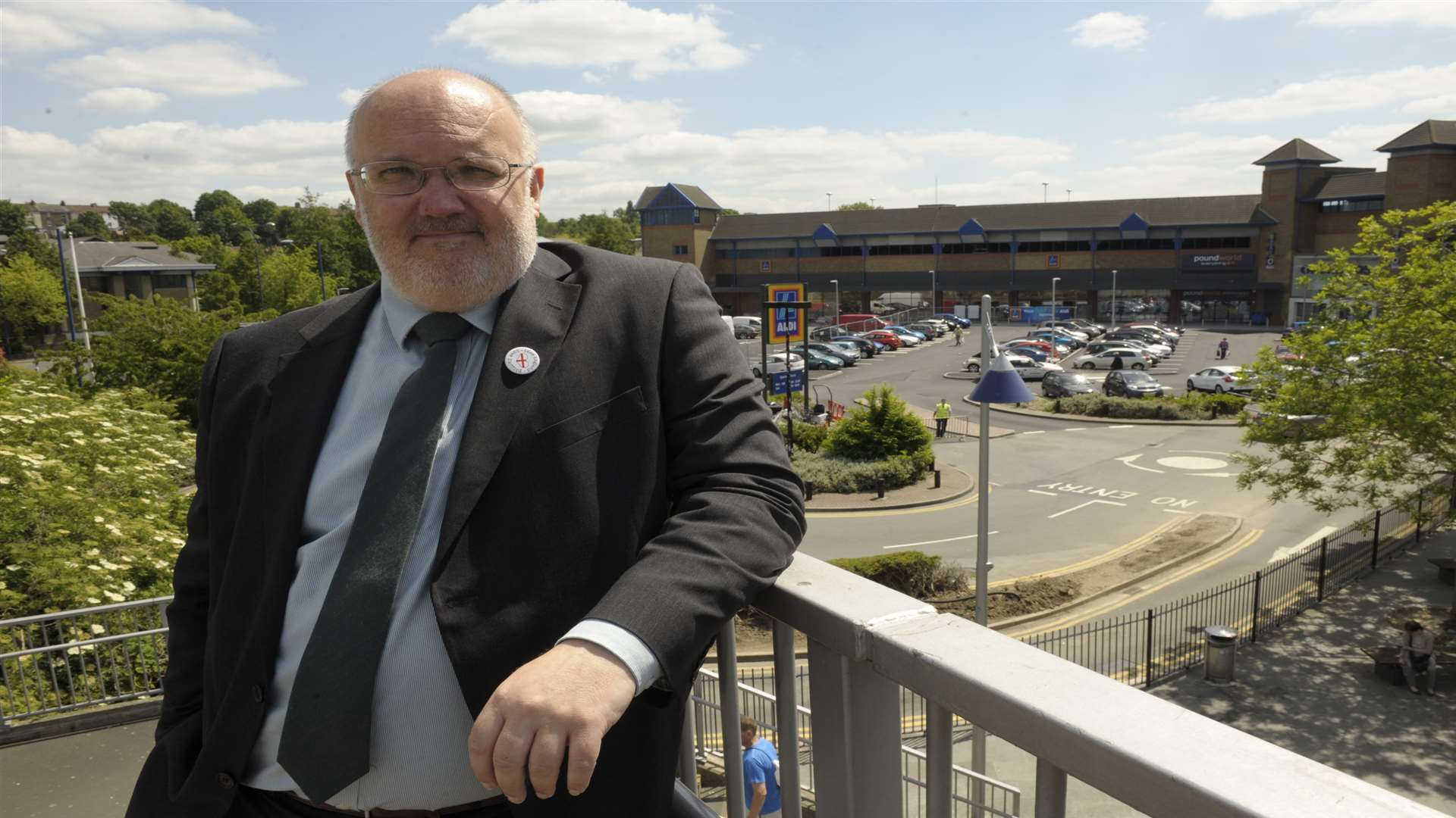 Dartford council leader Jeremy Kite