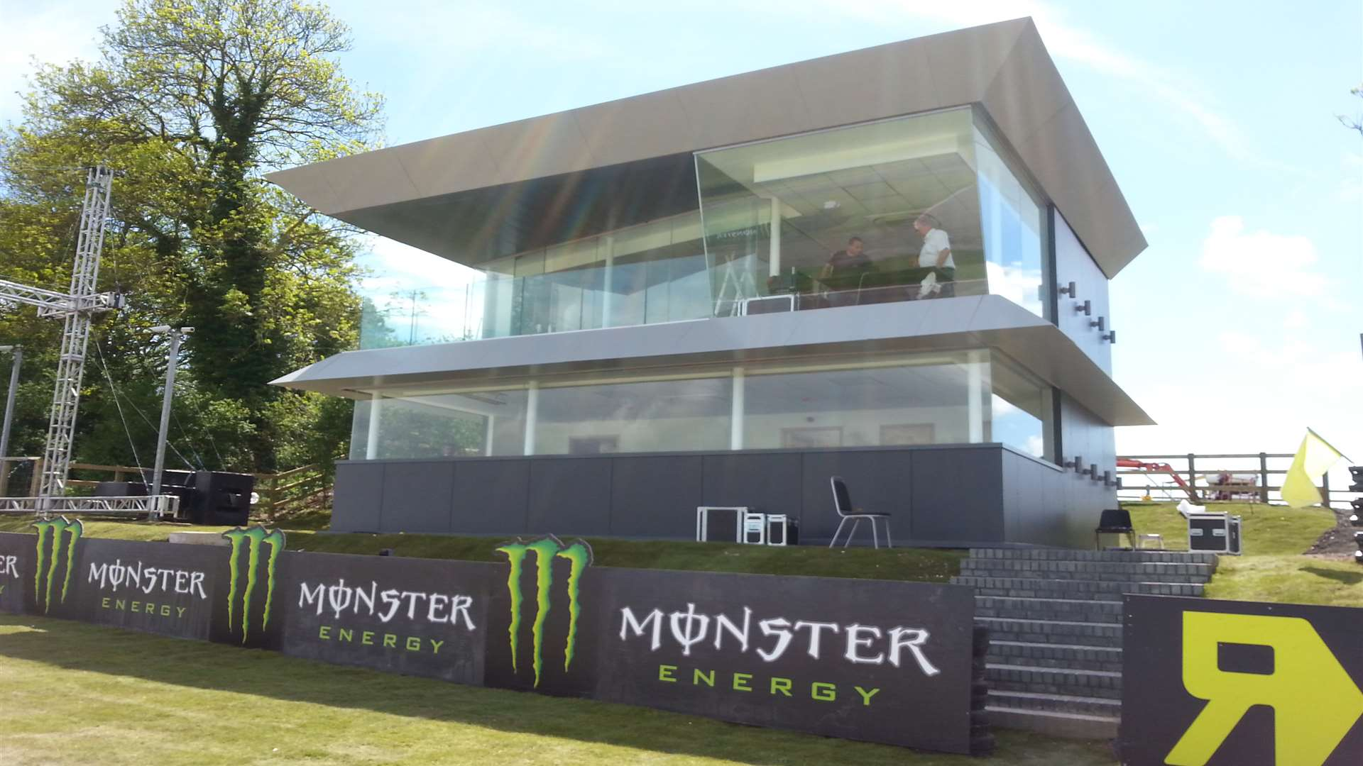 Lydden's new control tower catches the eye
