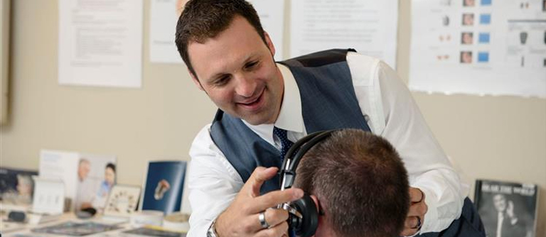 Getting your hearing checked