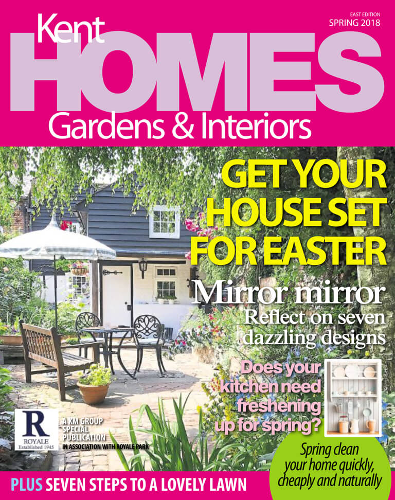 Kent Homes and Gardens Cover