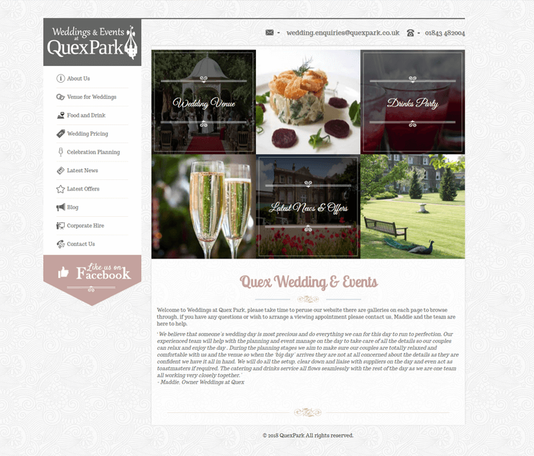 Quex Weddings and Events