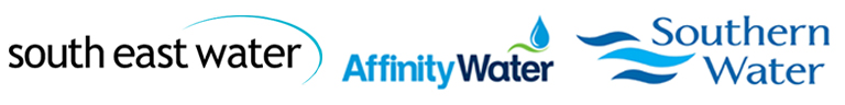 South East Water, Affinity Water and Southern Water