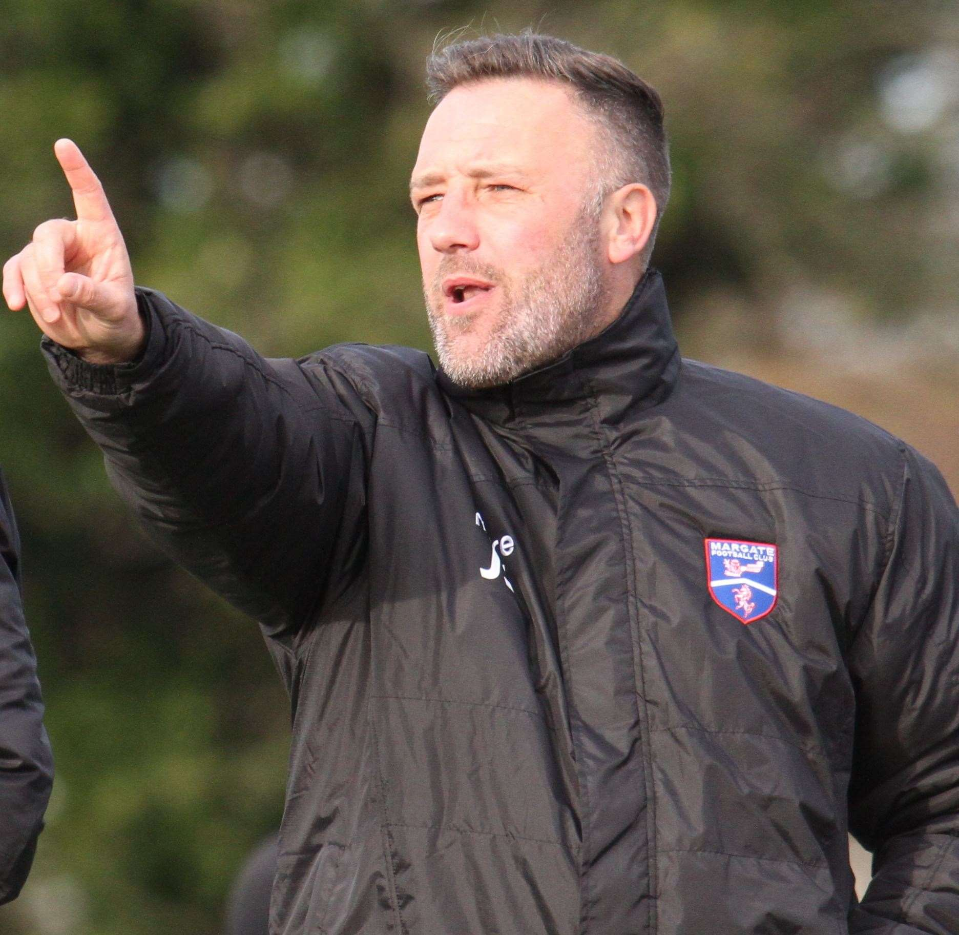Jay Saunders has been appointed Margate manager Picture: Don Walker