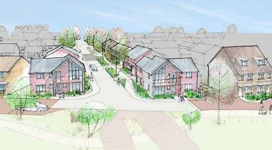 Ebbsfleet Garden City will see thousands of new homes built - with offices required to provide places of work