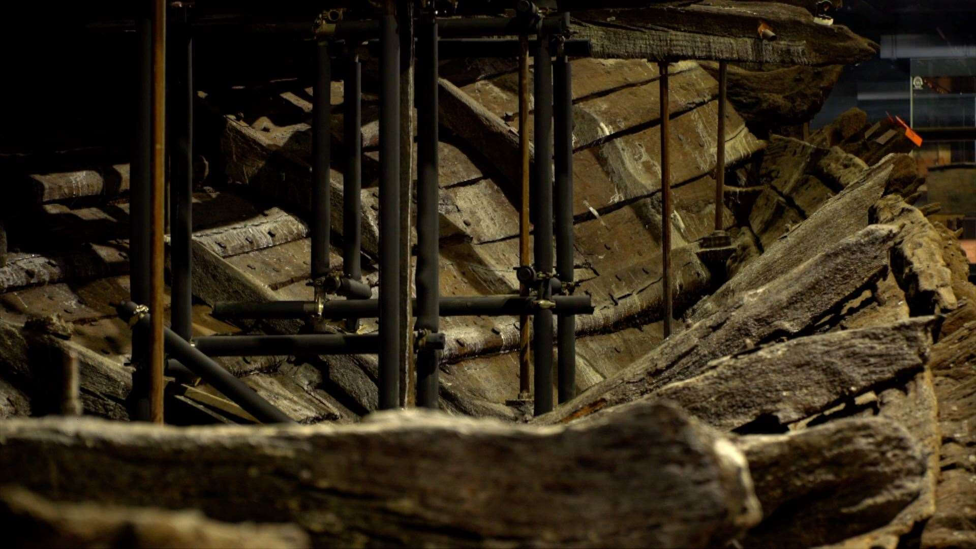 The 'chemical conundrum' of conserving the ship's timbers