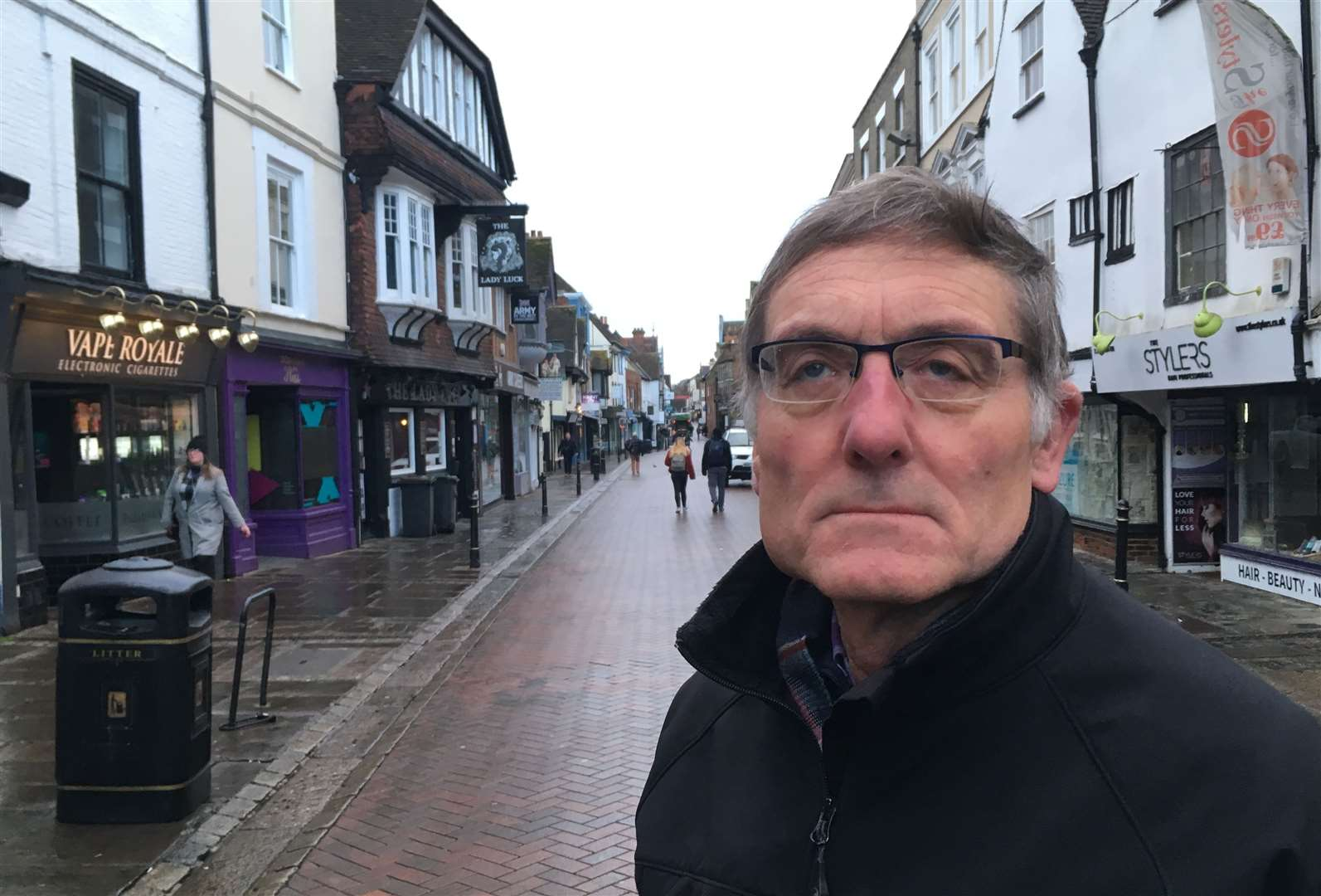 Cllr Alan Baldock hopes the plans will boost local jobs