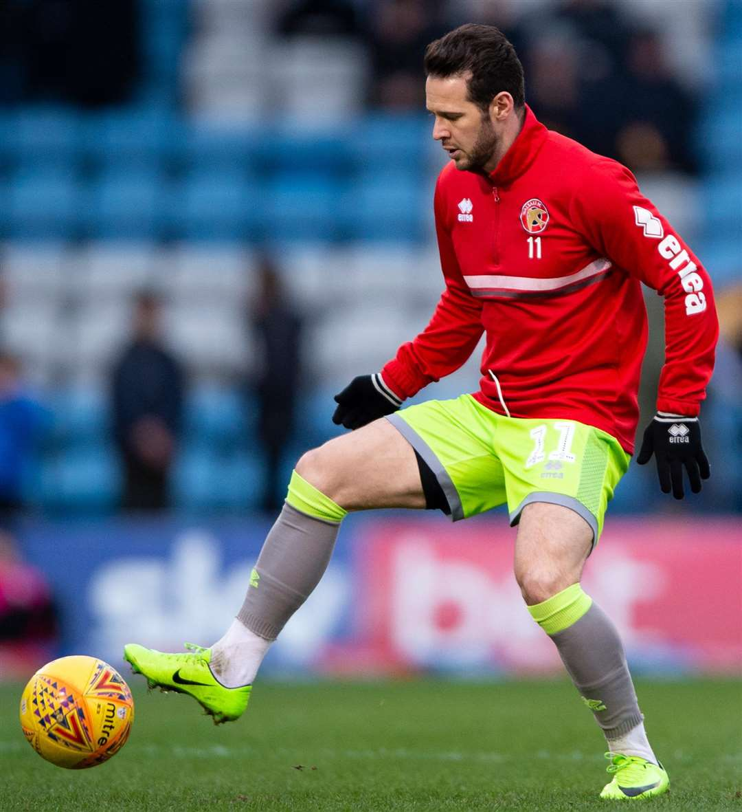Former Gill Matt Jarvis back on familiar ground Picture: Ady Kerry