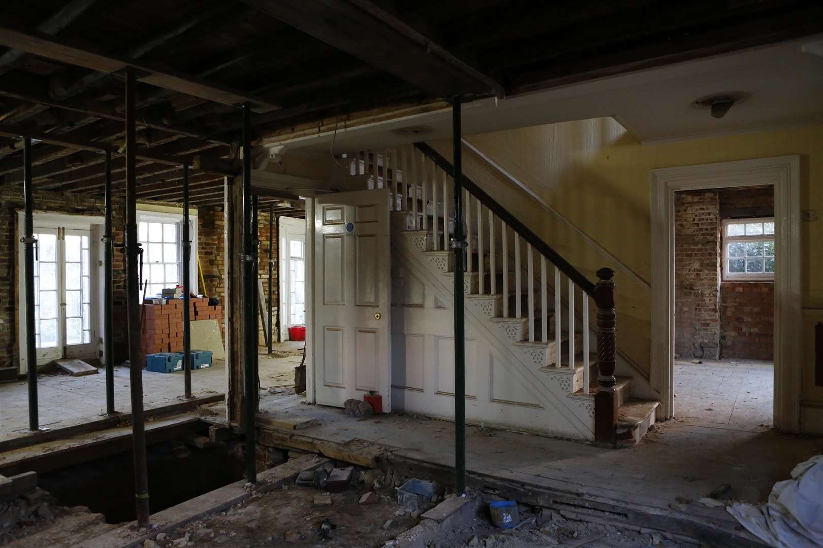 Inside The Croft which is being turned into a pub and restaurant. Picture Andy Jones