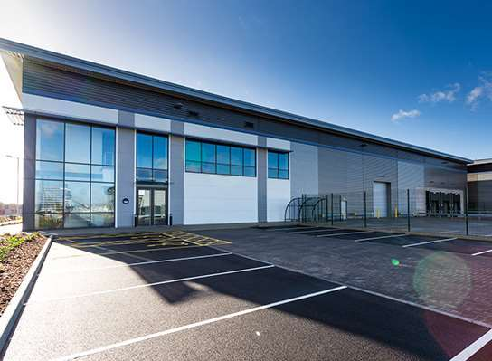 Amazon's new delivery centre in New Hythe