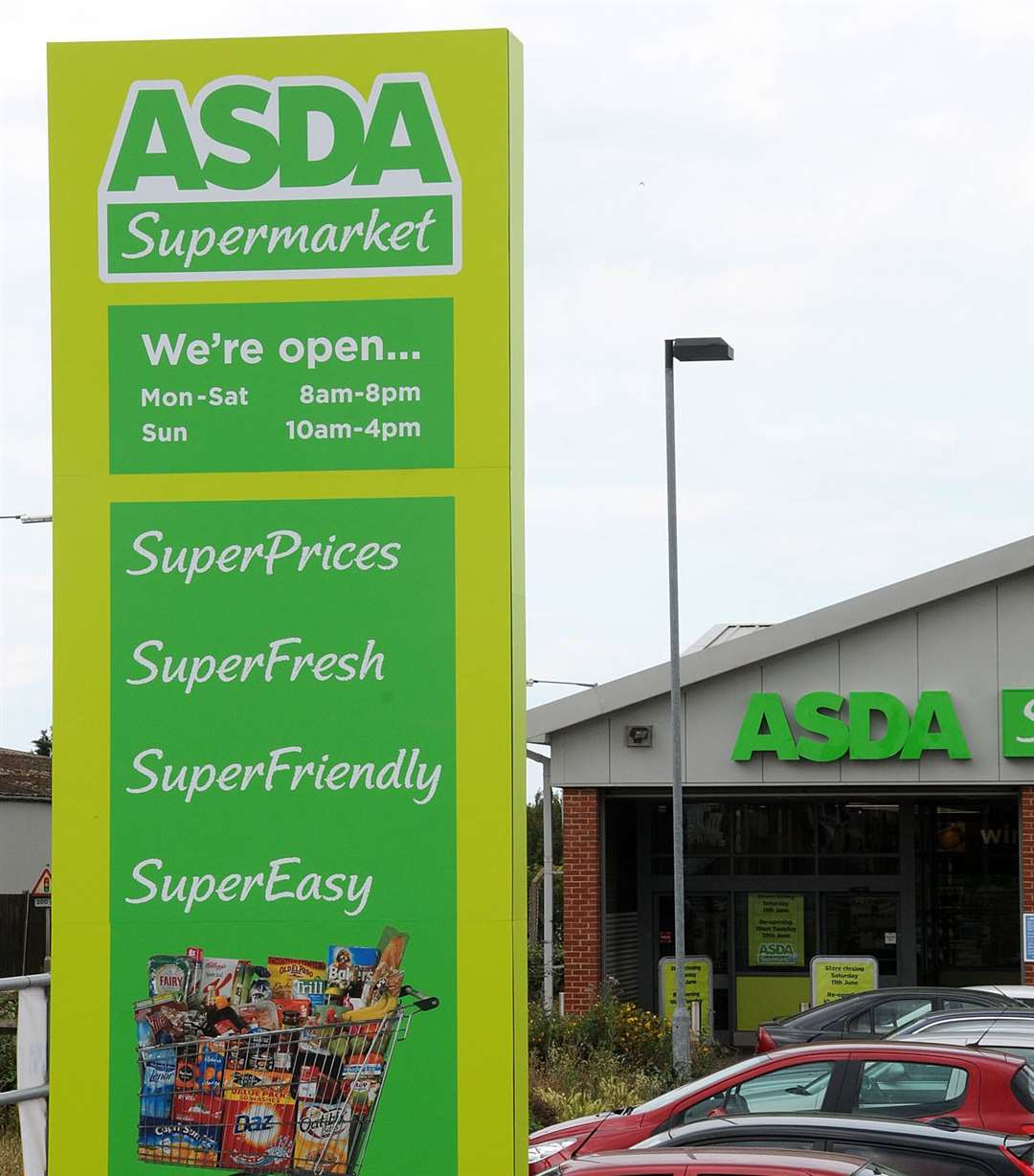 Asda has recalled products