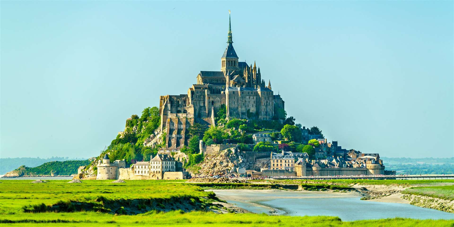 Mont-Saint-Michel in Normandy is regarded among France's most stunning sights.