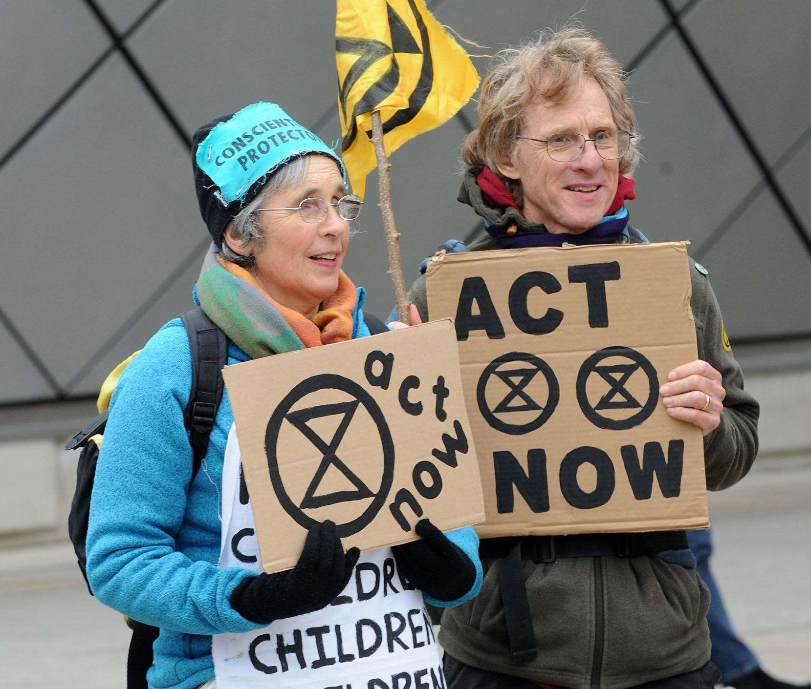 Extinction Rebellion is a non-violent protest organisation which is trying to get the government to do something about climate change